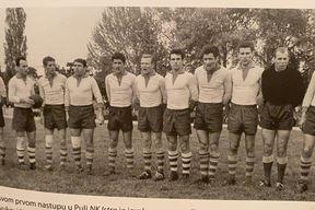NK ISTRA IZ 1961. GODINE - Ibriks, Černjul, Stojanović, Beck, Mikulandra, Stipčić, Valenčić, Premate, Malivuković, Radošević, Giljanović