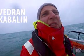 Vedran Kabalin (Screenshot iz filma Plavo-bijeli svijet)
