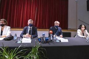 Svečano potpisivanje Sporazuma o suradnji s dvojezičnim gradovima i općinama u Istri (Foto: Istarska županija)