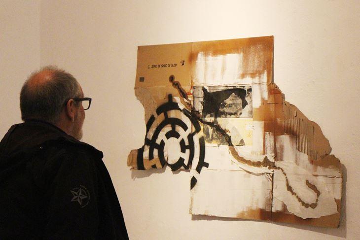 Oblik podčinjen materiji – jedan od radova Raoula Marinija (Snimio Luka Jelavić)