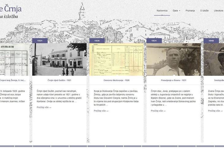 Izložba je dostupna na portalu Nacionalne i sveučilišne knjižnice (virtualna.nsk.hr/zvane-crnja)