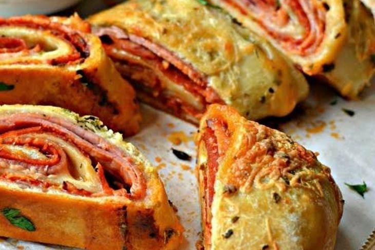 Pizza stromboli ili rolana pizza