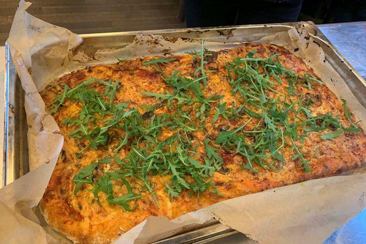 Veganska pizza (Snimila Ružica Koraca)
