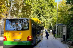 Pulaprometov autobus (snimila Tea Tidić)