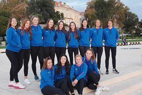 Kadetkinje Umaga koje su nastupile na nedavnom prvenstvu Hrvatske u Zadru