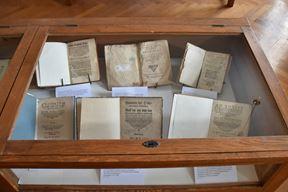 Ove vrijedne knjige u Sveučilišnoj knjižnici moći će se pogledati do Božića (Snimio Duško Marušić Čiči)