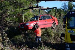 Očevid prometne nesreće u Umagu (Snimio Milivoj Mijošek)