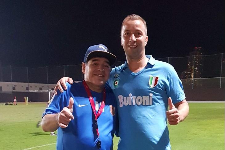 Maradona i Manuel