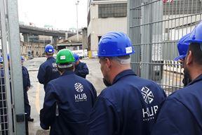 Voditelj brigade firme KUB inženjering d.o.o. sa radnicima