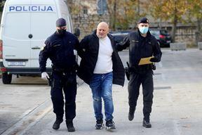 Privođenje drogooptuženog Talijana (Dejan Štifanić)