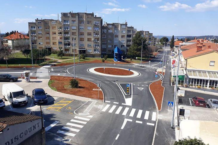 Kružni tok na Vidikovcu - jedan od brojnih koje je gradila Cesta