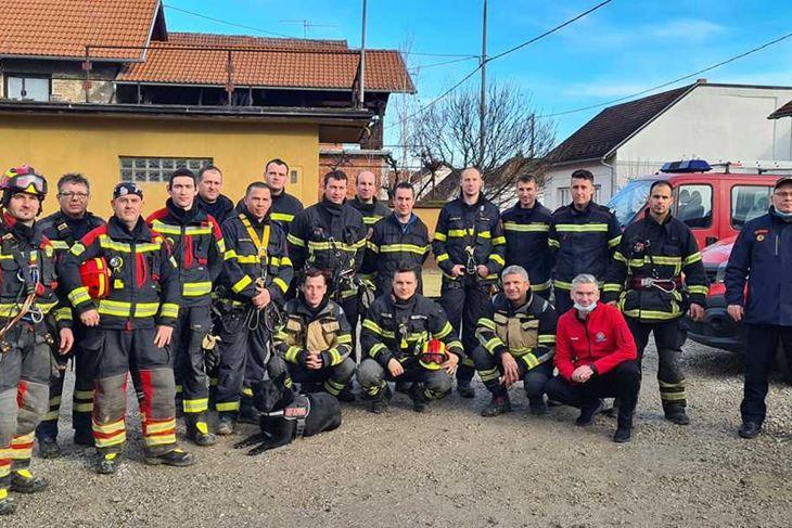 Istarski vatrogasci u Baniji