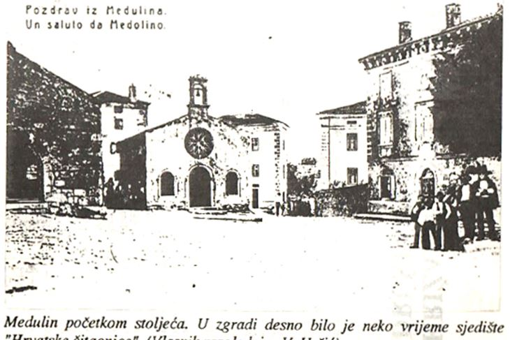 """Hrvatska čitaonica"" na medulinskom glavnom trgu"