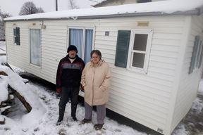 Obitelji su se smjestile u mobilne kućice