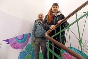 Kristijan Jerković i Sara Gortan - kreativan dvojac (Snimila Gordana Čalić Šverko)