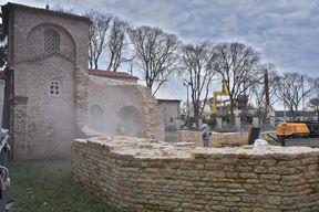 Projekt financira Ministarstvo kulture i Arheološki muzej Istre (Snimio: Duško Marušić Čiči)