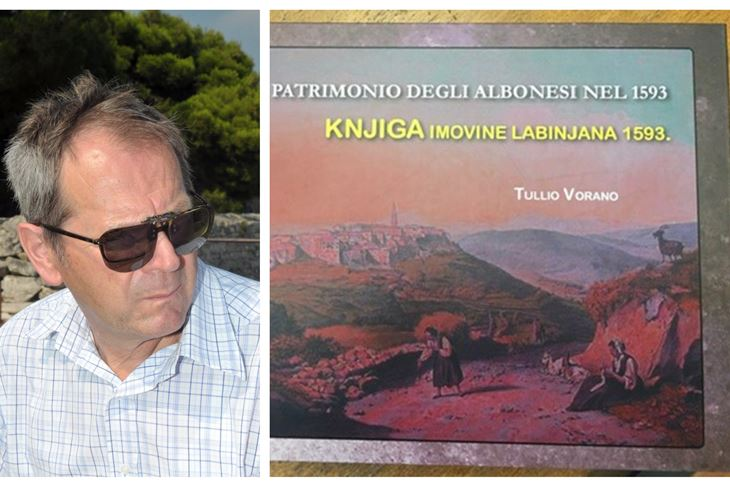 Tullio Vorano i Naslovnica knjige