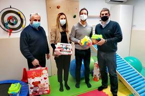Grad Rovinj poklonio je bolnici niz edukativnih igrač