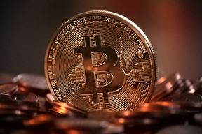 Bitcoin (foto Pixabay)