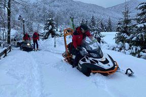 HGSS spasavanje snijeg