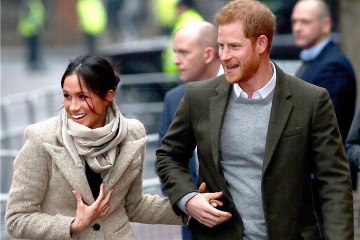 Meghan i Harry (EPA)
