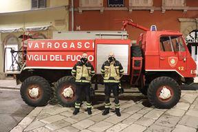 Vozilo je služilo vatrogascima od 1987. godine (Foto: JVP Rovinj)