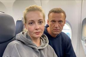 Yulia i Alexei Navaljni (EPA)