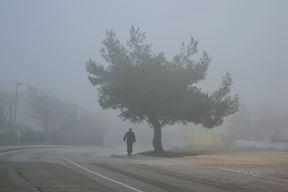 Magla u Puli (Snimio Enes Seferagić)