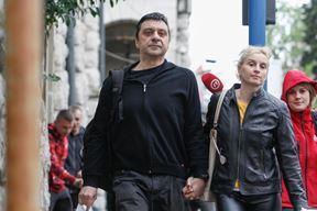 Bivši predsjednik Uprave Uljanika Gianni Rossanda pri izlasku iz riječkog zatvora