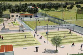 Simulacija budućeg Nacionalniog centra pljočkanja i Sportskog centra