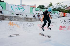 Skateboard škola u Skate parku Pula