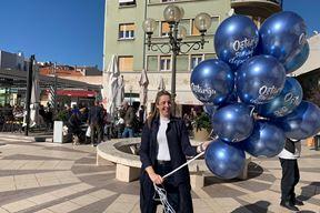 Rafaela Sladonja s balonima
