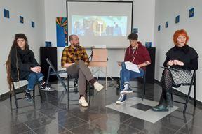 Kreatori kampanje: Petra Pletikos, Vjeran i Vibor Juhas te Kristina Nefat (Snimio Zoran Angeleski)