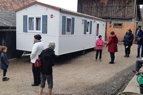 Jedna od kućica predana je obitelji u Brezovom Polju