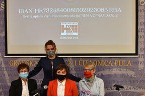 Jadranka Černjul, Elis Lovrić, Sandra Ćakić Kuhar i Ljiljana Rotar (Snimio Dučko Marušić Čiči)