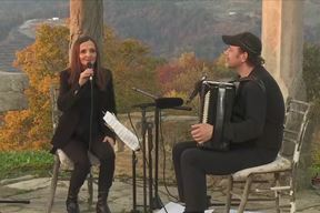 Tamara Obrovac i Fausto (harmonika)  31. 10. 2020.