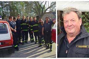 Umirovljeni zapovjednik JVP-a Labin Darko Vitasović s kolegama na jednom od brojnih zadataka