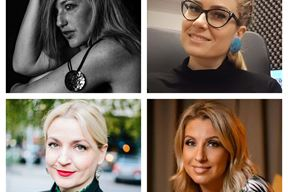 Selma Ibrišagić, Nina Žufić, Paola Orlić i Erika Drviš