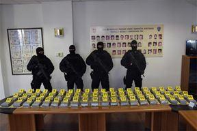 Kokain, zapljena 219 kilograma kokaina, Foto: PU dubrovacxko-neretvanska