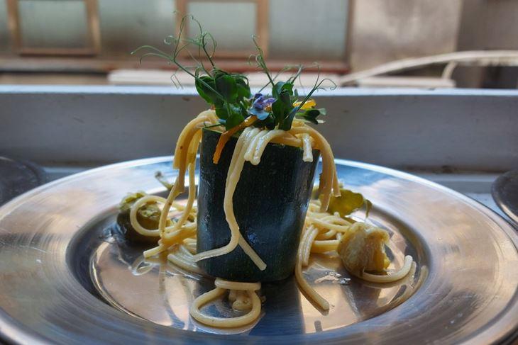 Mikro povrtni spaghetti by The Outlaw Chef