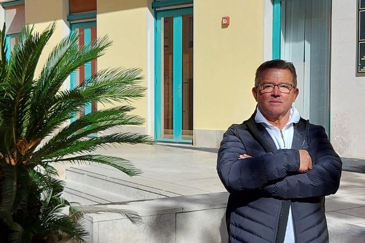 Marino Paretić: Izborni program namjeravamo provoditi kroz Gradsko vijeće mladih i Mjesne odbore (Snimila Sanja Bosnić)