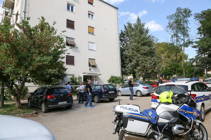Zgrada u kojoj se u lipnju prošle godine dogodio zločin (Snimio Goran Šebelić / Cropix)