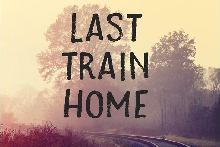 """Svjetska antologija suvremenog haikua, tanke i renge na temu vlakova i putovanja vlakom pod nazivom """"Last train home"""""""