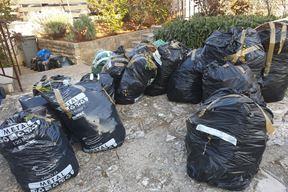 """Biootpad uredno pripremljen za transport - ali u """"krivim"""" vrećama"""