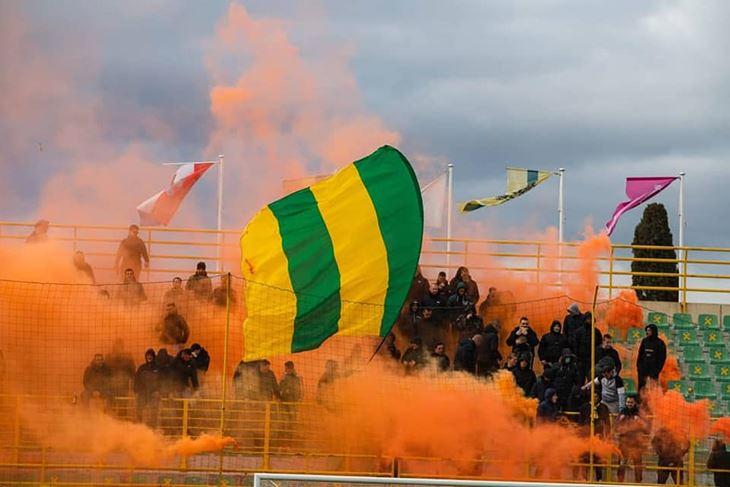 Na jučerašnjem treningu pred polufinalnu utakmicu s Rijekom zeleno žuti su dobili podršku Demona  (Foto: Demoni Facebook)
