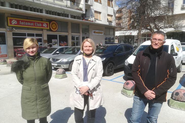Sandra Benčić, Suzana Jašić, Dragan Družeta (Snimio Anđelo Dagostin)