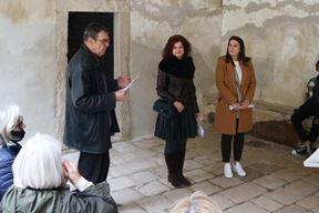 Otvaranje je upriličeno u lođi ispod galerije - Eugen Borkovsky, Adalgisa Škopac i Tea Štokovac