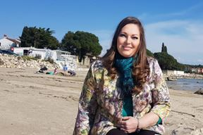Christina Rosić Rota, kandidatkinja za gradonačelnicu Umaga (Snimila Sanja Bosnić)