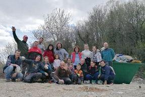 Sudionici eko-akcije (Robert SLAVIĆ)