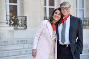 Melinda i Bill Gates (EPA)